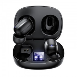 Беспроводные Bluetooth наушники Joyroom JR-TL5 TWS With Display Black