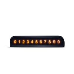 Визитка на панель при временной парковки автомобиля Joyroom JR-ZS173 Black