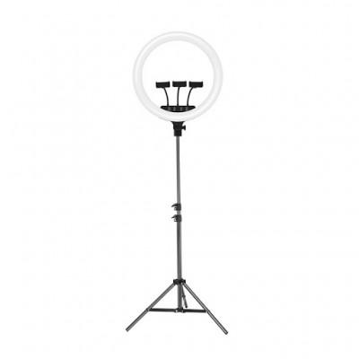 Кольцевая LED-лампа для селфи с подставкой Joyroom JR-ZS228 Live show AKL03 Black