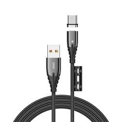 Кабель Joyroom S-M408 Magnetic Series Type-C 1.2m Black