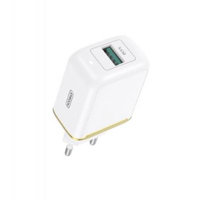Сетевое зарядное устройство Joyroom L-Q18Z Yida Series QC3.0 (1USB 18W) White