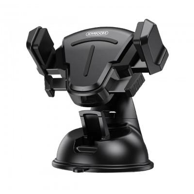 Держатель для телефона на присоске в авто Joyroom JR-OK2 Suction cup T-bracket phone holder Black