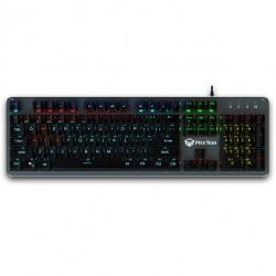 Механическая проводная игровая клавиатура с подсветкой Meetion MT-MK007 USB Rainbow Backlit Gaming Keyobard RUS Black