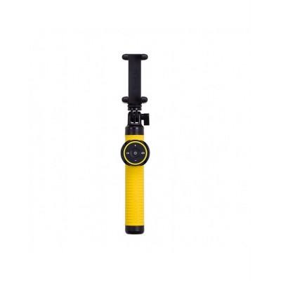 Селфи-монопод Momax SelfieHero 150cm with Bluetooth Black/Yellow (KMS8D)
