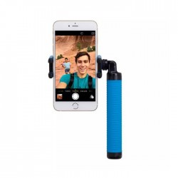 Селфи-монопод Momax SelfieHero 150cm with Bluetooth Black/Blue (KMS8D)