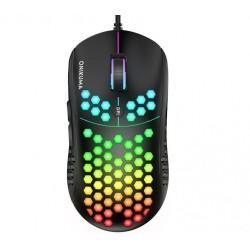 Игровая проводная мышь с подсветкой Onikuma CW903 USB gaming mouse black