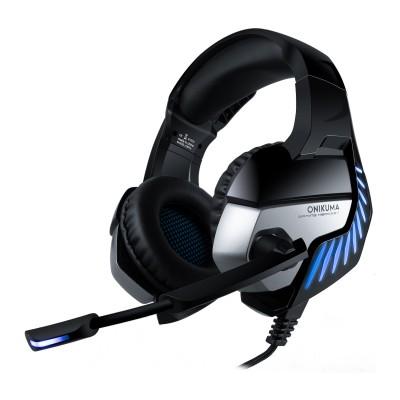 Наушники игровые Onikuma K5 PRO с микрофоном Black-Blue