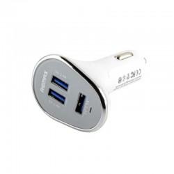 Автомобильное зарядное устройство Remax RCC302 (3USB 6.3A) White