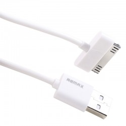 Кабель Remax Fast Charging  round для iPhone 4 White