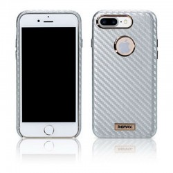 Чехол-накладка Remax Carbon Series Case for iPhone 7/8 Silver