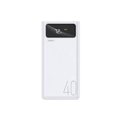 Power Bank Remax RPP-113 Mengine Series 40000mAh (4USB, 2.1A) White