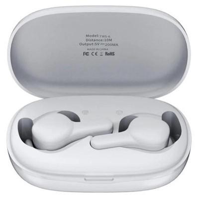 Беспроводные Bluetooth наушники Remax TWS-6 White