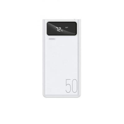 Power Bank Remax RPP-162 Mengine Series 50000mAh (4USB, 2.1A) White