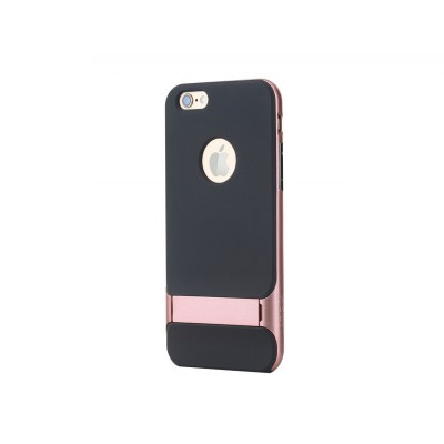 TPU+PC чехол Rock Royce Series с функцией подставки для Apple iPhone 6 Plus/6S Plus Rose Gold