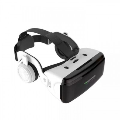 3D Очки виртуальной реальности с наушниками Shinecon VR SC-G06E White