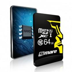 Карта памяти Smare RX MicroSD C10 64GB