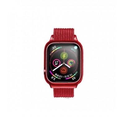 Ремешок Usams US-ZB068 Magnetic Loop для Apple Watch Series 1/2/3/4 (42/44mm) Red