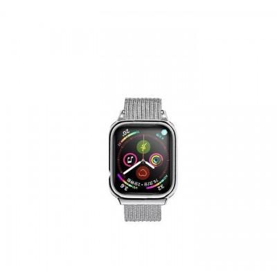 Ремешок Usams US-ZB067 Magnetic Loop для Apple Watch Series 1/2/3/4 (38/40mm) Silver