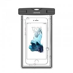 Водонепроницаемый чехол для смартфонов (до 6 дюймов) Usams US-YD002 Luminous Waterproof Black