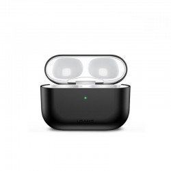 Чехол для Apple Airpods Pro Usams US-BH569 Ultra-thin Silicone Protective Cover Black