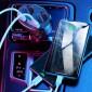 Зарядное устройство для телефона в авто Usams US-CC099 C16 96W (2 USB и 2 прикуривателя) Black