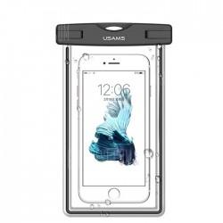 Водонепроницаемый чехол для смартфонов (до 5,5 дюймов) Usams US-YD001 Luminous Waterproof Black