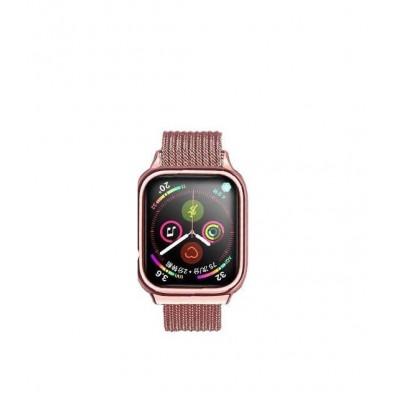 Ремешок Usams US-ZB067 Magnetic Loop для Apple Watch Series 1/2/3/4 (38/40mm) Rose Gold