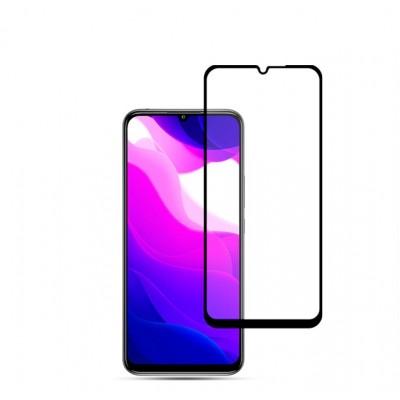 Защитное стекло Full Cover (с клеем по всей поверхности) для Xiaomi Mi 10 Lite Black