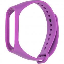 Ремешок для фитнес браслета Xiaomi Mi Band 3/4 Violet