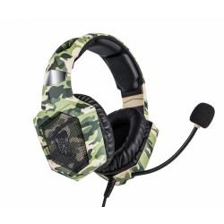 Наушники игровые Onikuma K8 с микрофоном Camo Green
