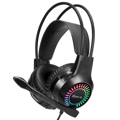 Наушники игровые XTRIKE ME GH-709 с микрофоном Black