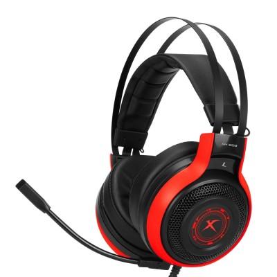 Наушники игровые XTRIKE ME GH-908 с микрофоном Black-Red