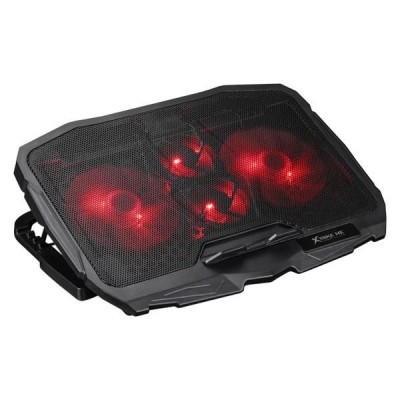Подставка для ноутбука с охлаждением и подсветкой Xtrike FN-802 Cooling Fan (2USB, регулировка угла наклона) Black