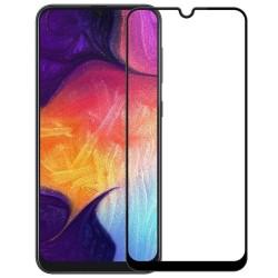 Защитное стекло Full Cover (с клеем по всей поверхности) для Samsung Galaxy M30S Black
