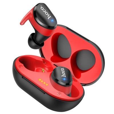 Беспроводные Bluetooth наушники Hoco ES41 Clear sound TWS Black-Red