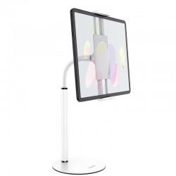 Настольный держатель (крепление) для телефона или планшета Hoco PH30 Soaring series metal desktop stand White