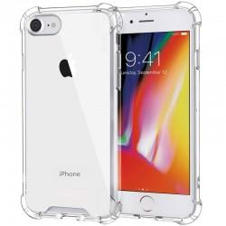 Силиконовый противоударный (с усиленными углами) чехол-бампер для Apple iPhone 7 / 8  Прозрачный