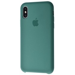 Чехол HC Silicone Case для Apple iPhone X/XS Dark Green