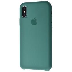 Чехол HC Silicone Case для Apple iPhone X/XS Dark Green