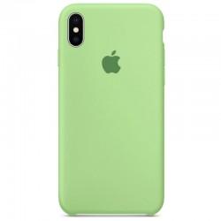 Чехол HC Silicone Case для Apple iPhone X/XS Mint