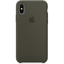 Чехол HC Silicone Case для Apple iPhone X/XS Olive