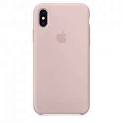 Чехол HC Silicone Case для Apple iPhone X/XS Pink Sand