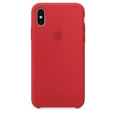 Чехол HC Silicone Case для Apple iPhone X/XS Red