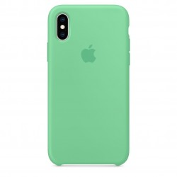 Чехол HC Silicone Case для Apple iPhone X/XS Spearmint Green