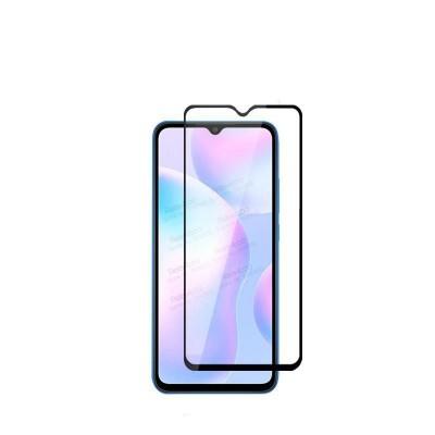 Защитное стекло Full Cover (с клеем по всей поверхности) для Xiaomi Redmi 9A Black