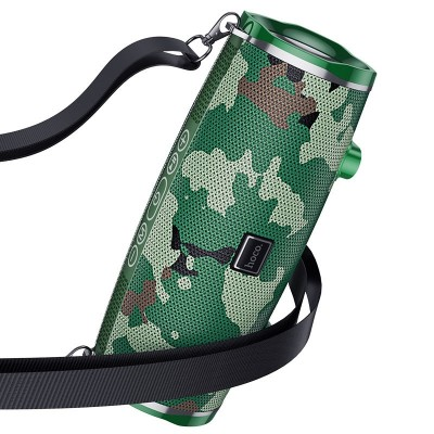 Беспроводная Bluetooth колонка Hoco BS40 Desire song sports wireless speaker Camouflage Green