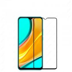 Защитное стекло Full Cover (с клеем по всей поверхности) для Xiaomi Redmi 9C Black