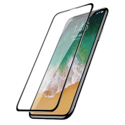Защитное стекло для Apple iPhone X / XS / 11 Pro Baseus Full Coverage Curved Tempered Glass Protector Black