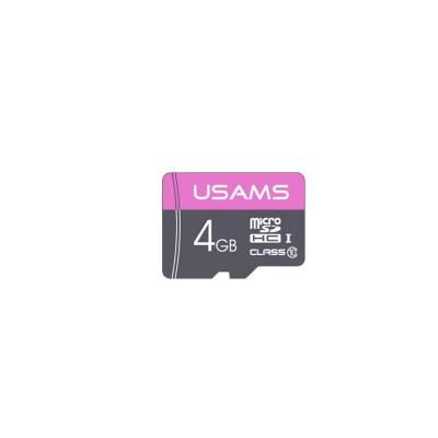Карта памяти Micro SDHC Card Usams US-ZB100 TF High Speed Card 4Gb Class 10