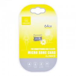 Карта памяти Micro SDHC Card Usams US-ZB095 TF High Speed Card 64Gb Class 10